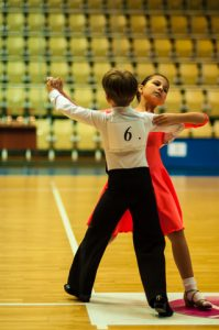 Kids competitive dance